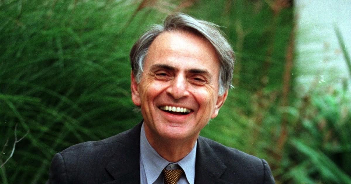 Carl Sagan e as perguntas para os nossos visitantes extraterrestres