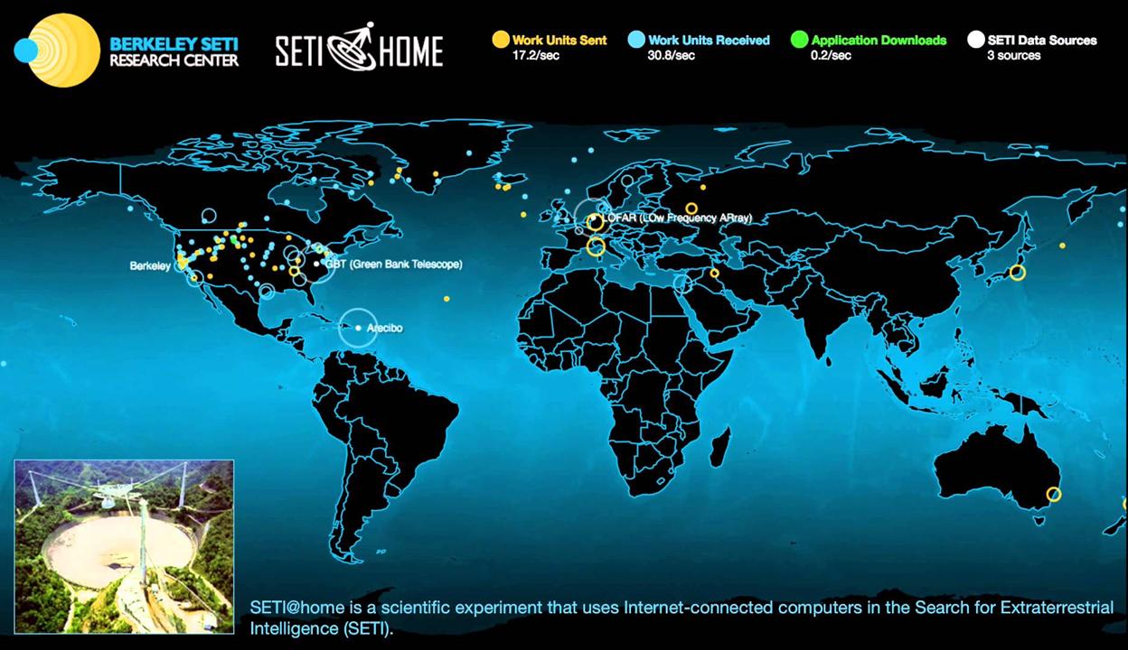 Mãe, tô no SETI! Como é contribuir com a busca por vida inteligente em outros planetas utilizando o meu computador pessoal
