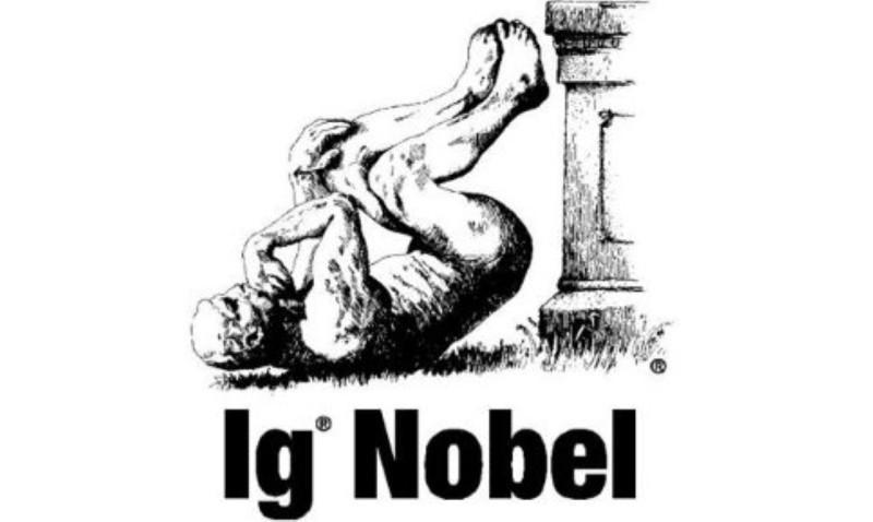 Saiu o Ig Nobel 2019